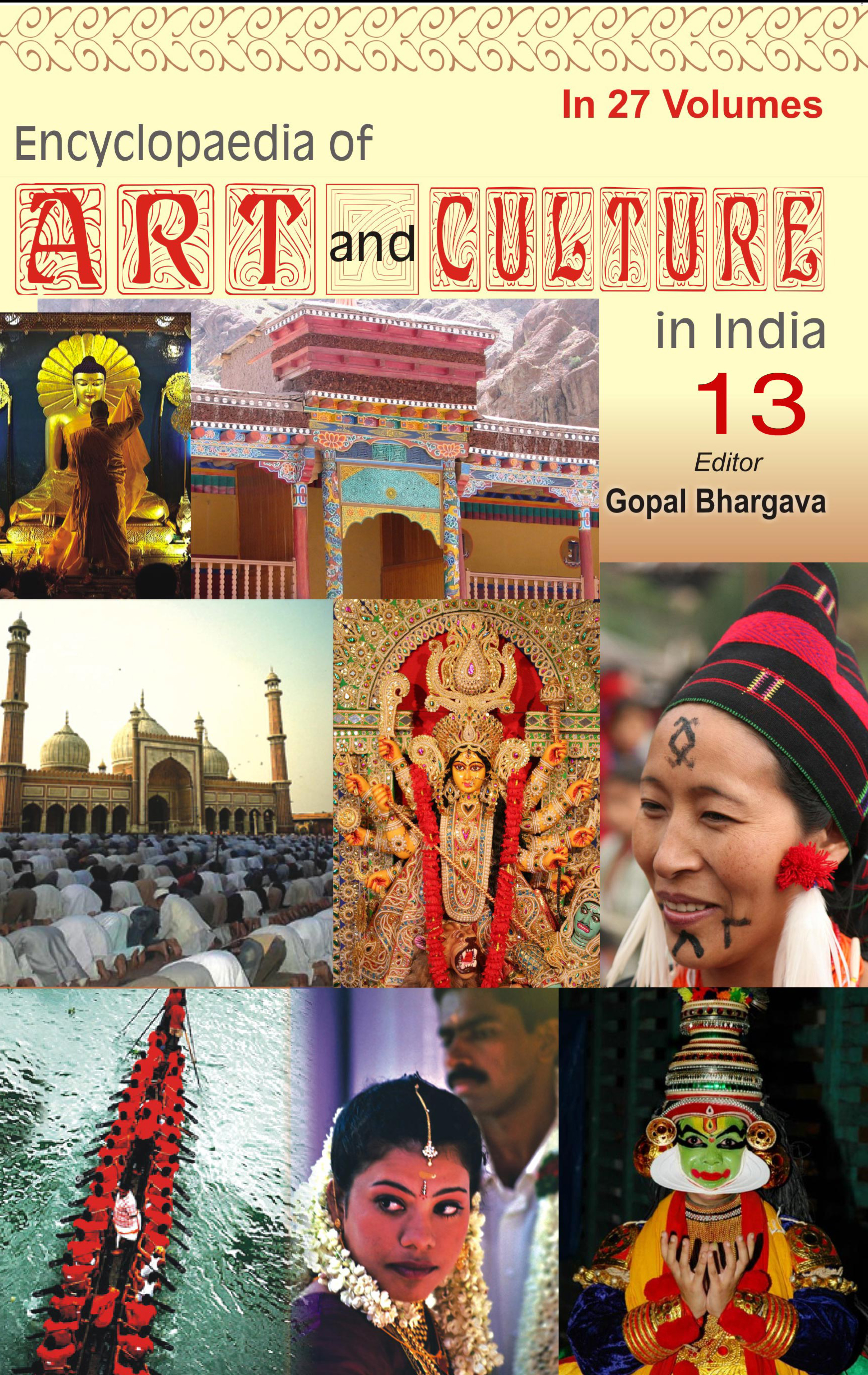Encyclopaedia Of Art And Culture In India (Volume - 13) (Uttarakhand)